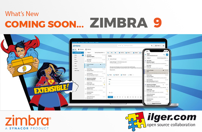 zimbra 9 open source
